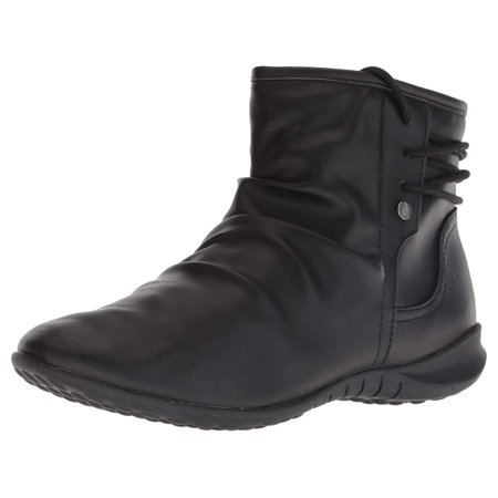 Hush Puppies Women's Bria Bootie Ankle Boot, Black, Size 7.0