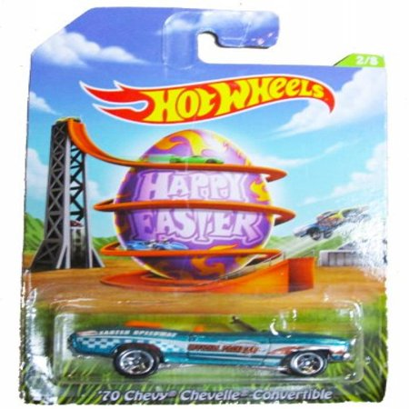 Hot Wheels Happy Easter 2014 - 2/8 - '70 Chevy Chevelle Convertible 1965 Chevelle Malibu Convertible