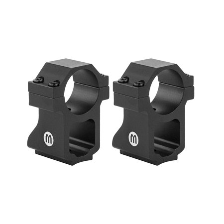 Monstrum Tactical Ruger 10/22 Rifle Scope Rings with See-Through Base | 1 Inch