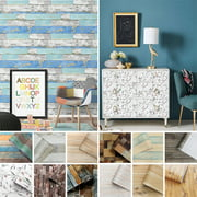 CUH 6M Real Wood Contact Paper Wallpaper Peel and Stick Self Adhesive Wall Sticker