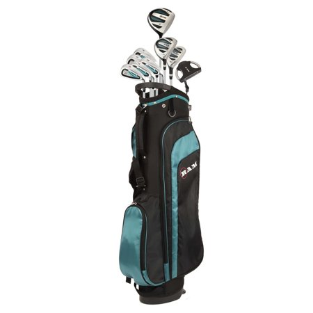 Ram Golf EZ3 Ladies Golf Clubs Set with Stand Bag - ALL Graphite