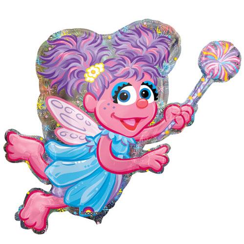 Abby Cadabby Supershape Foil Mylar Balloon (1ct)