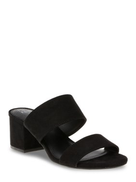 Women's Time and Tru Block Heel Mule