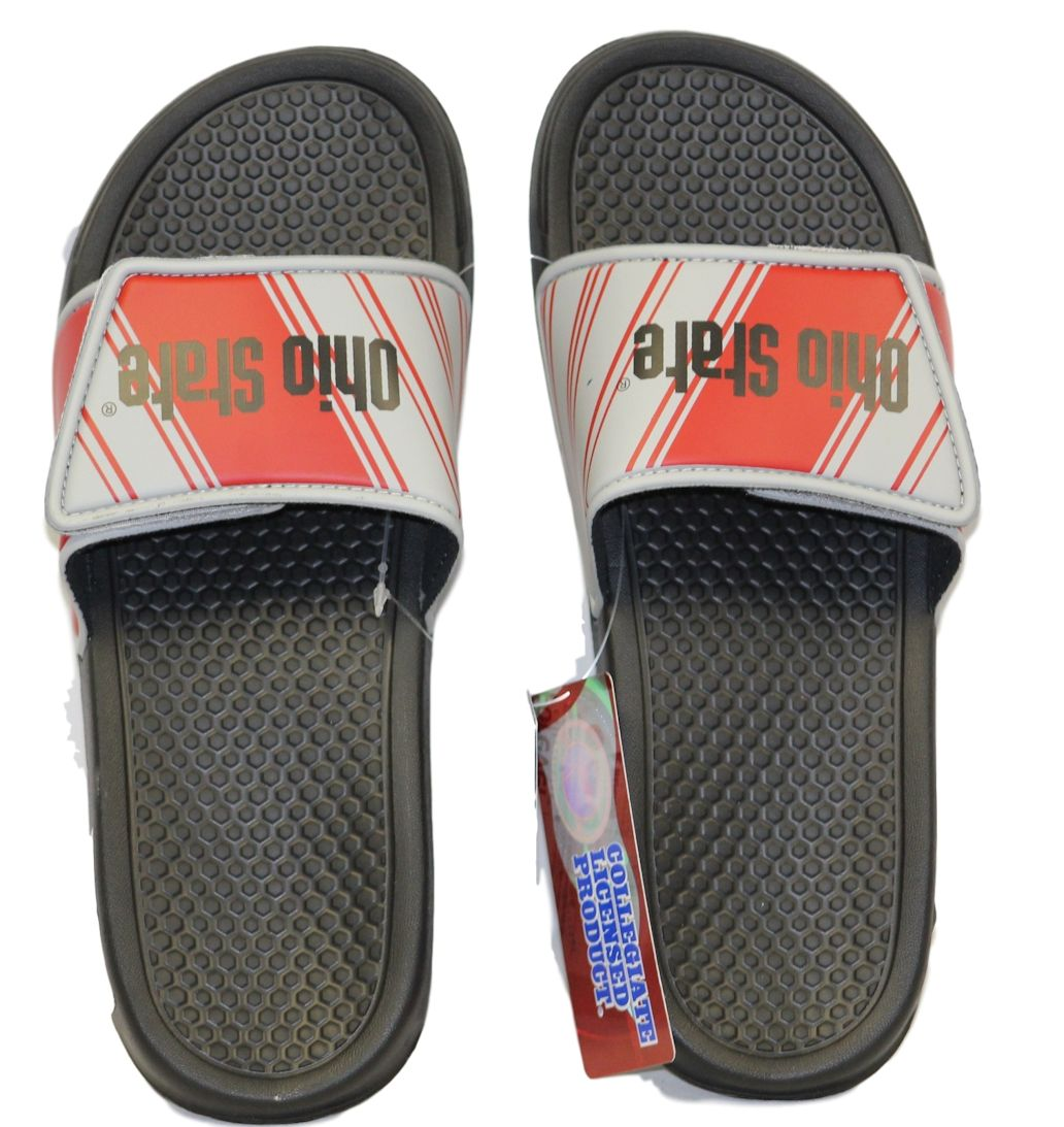 Ohio State Buckeyes Men's Legacy Shower Sport Slide Flip Flop Sandals