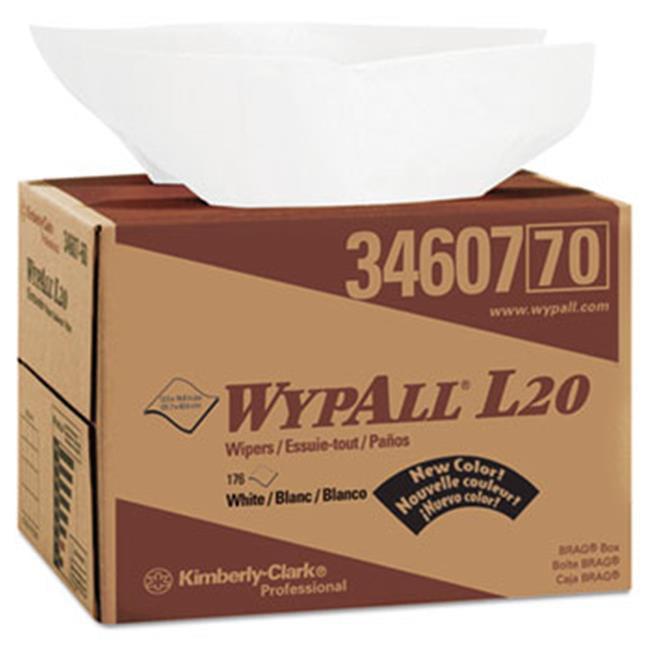 Kimberly Clark Consumer 34607 L20 Wipers, Kim towel, Q-Fold