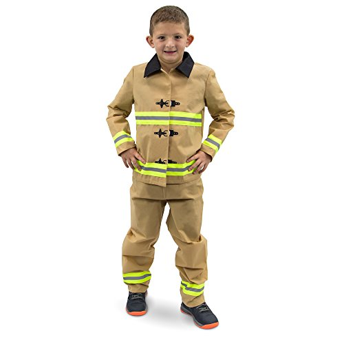 Boo! Inc. Fearless Firefighter Children's Halloween Dress Up Roleplay Costume