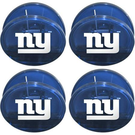 Chip Clip Set - NFL New York Giants Magnetic Chip Clip Set, 4pk
