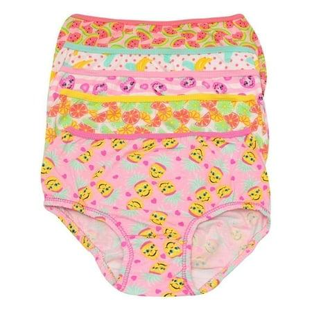 Cute Teen Girl Com (1000% Cute Little Girls Yellow Pink Fruit Print Cotton 5 Pc Underwear)