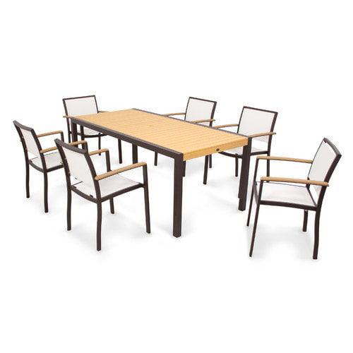 POLYWOOD Bayline  7 Piece Dining Set I