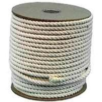 - Wellington 11298 Pioneer Twisted Rope, 3/4 in Dia x 350 ft L, 50 lb, Cotton/Synthetic Yarn per SPOOL