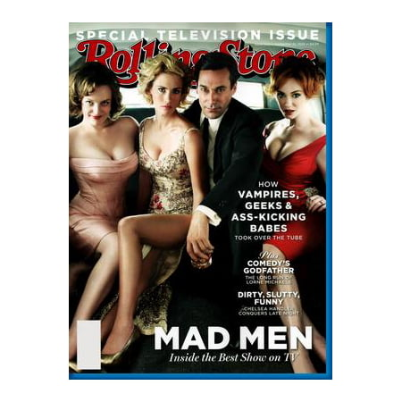 Mad Men Rolling Stone Cover poster Jon Hamm Don Draper Metal Sign 8inx (Don Draper Glasses)