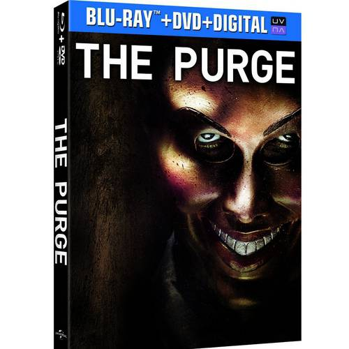 The Purge (Blu-ray + DVD + Digital HD) (With INSTAWATCH) (Widescreen)