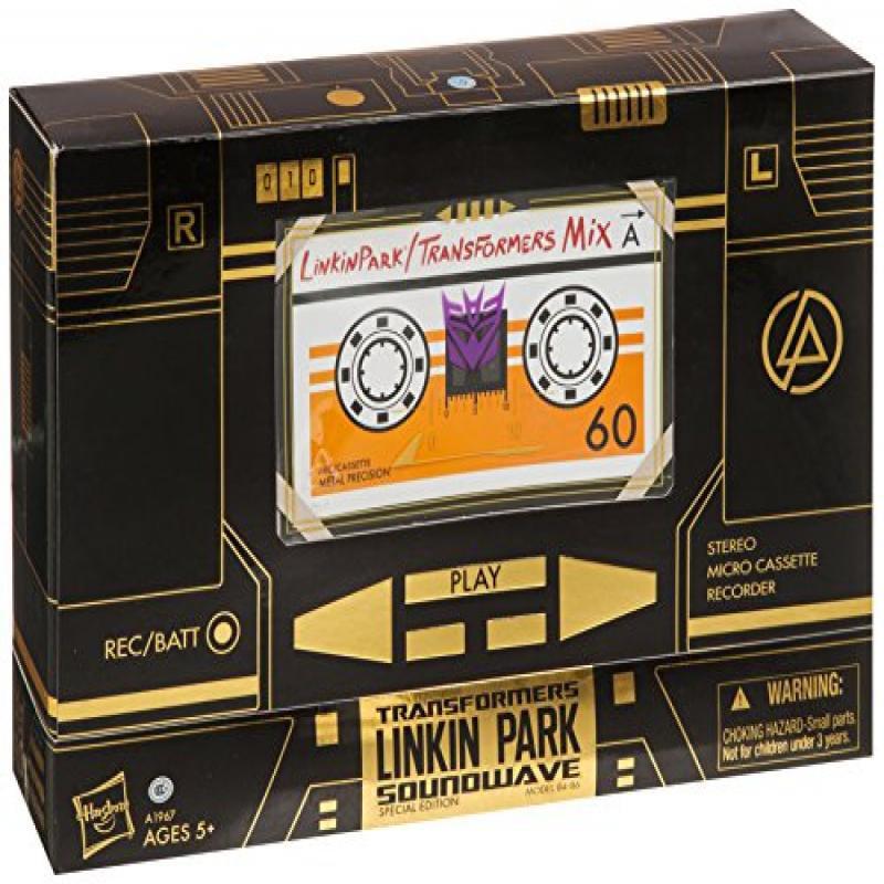 Transformers Exclusive G1 Linkin Park Soundwave Figure by
