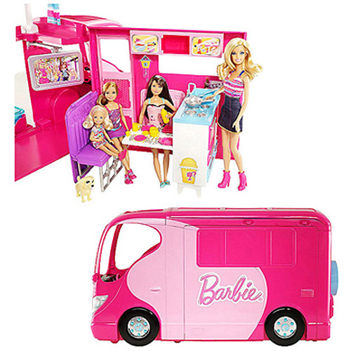 Barbie Sisters Go Camping Camper