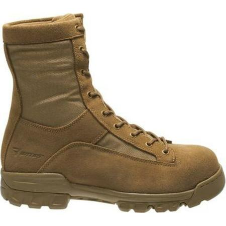 bates men's ranger ii hot weather composite toe military & tactical boot, coyote, 9 2e us