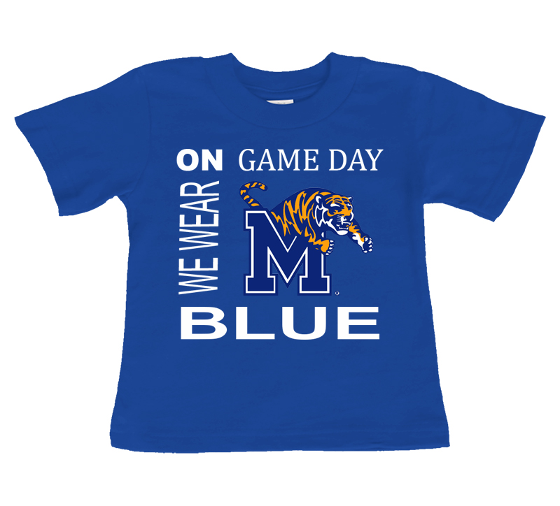 Memphis Tigers On Game Day Baby/Toddler T-Shirt