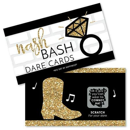 Nash Bash - Nashville Bachelorette Party Game Scratch Off Dare Cards - 22