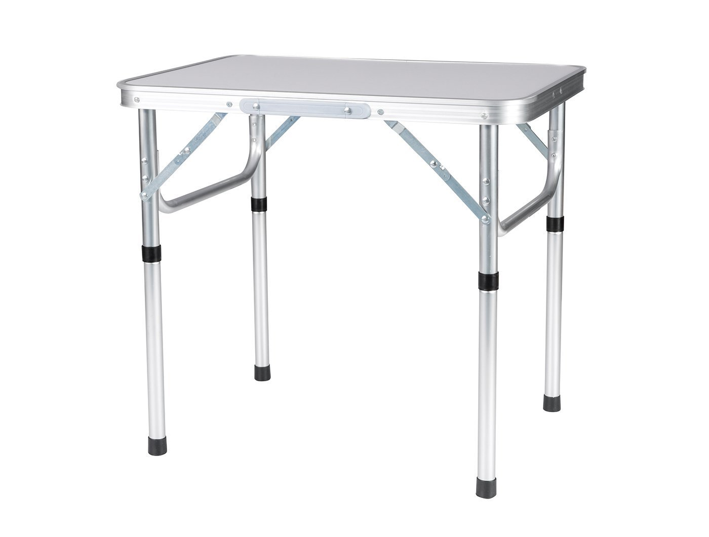Folding Aluminum Height Adjustable Table Picnic Party Dining Camping Table by