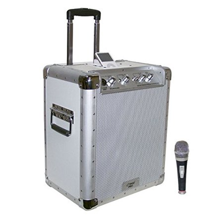 PYLE PRO PCMX240I Battery-Powered Portable PA System with iPod(R) Docking Station
