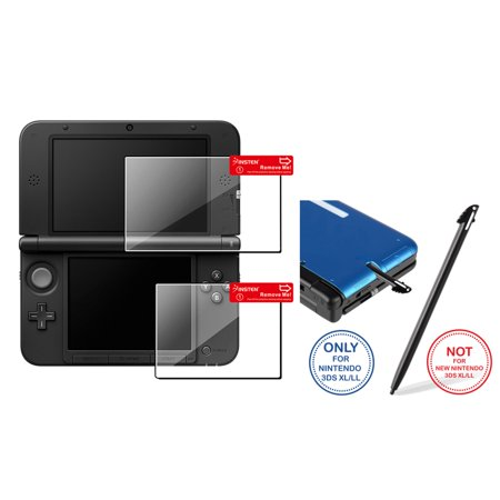 Insten 2x Clear Top+Bottom LCD Screen Protector+Black Stylus For Nintendo 3DS