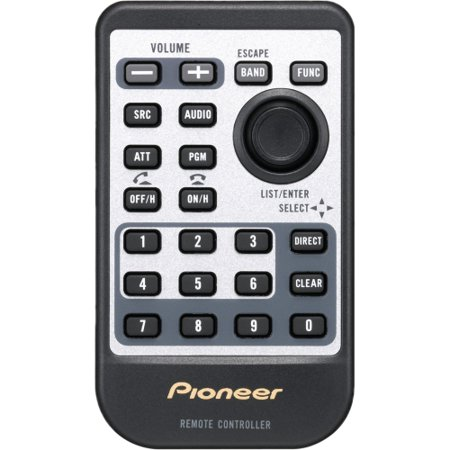 Pioneer CD-R510 Replacement Credit Card Remote for Pioneer Head