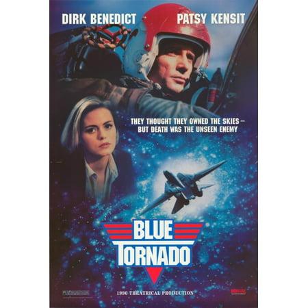 Blue Tornado Movie Poster Print  27 X 40