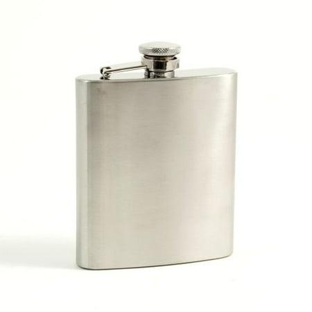 Bey Berk 7 Oz. Stainless Steel Flask In A Satin (Bey Berk Flask)