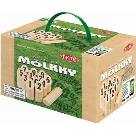 tactic games molkky outdoor game cardboard box. Black Bedroom Furniture Sets. Home Design Ideas