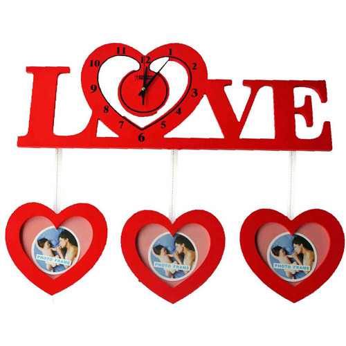 Love Photo Frame Clock