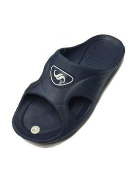 2e8153482 Product Image 0122 Men s Rubber Sandal Slipper Comfortable Shower Beach Shoe  Slip On Flip Flop