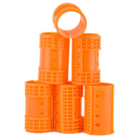 Diane Snap On Magnetic Roller, Orange, 1.5 in. ()