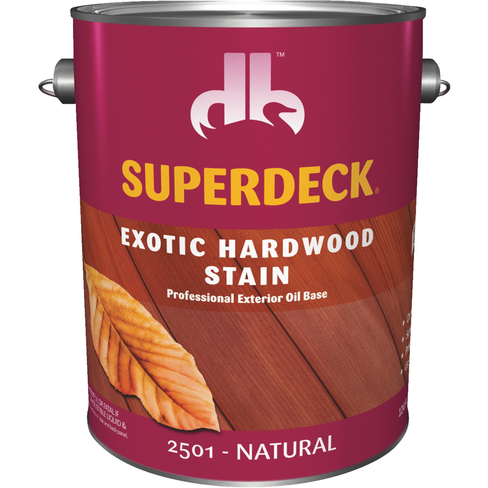 Duckback SUPERDECK Exotic Hardwood Deck Stain
