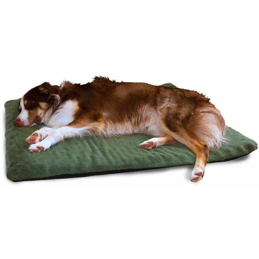 furhaven pet nap envelope terry orthopedic pet bed dog bed