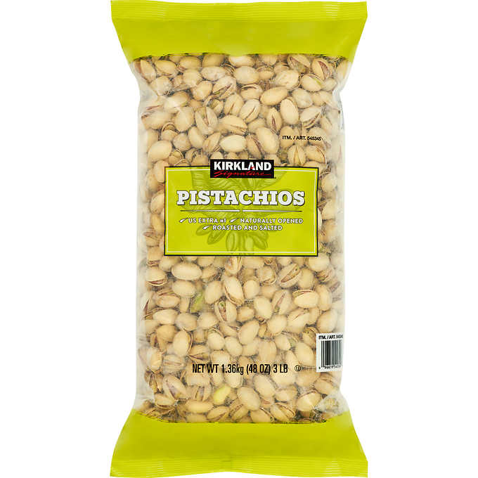 Kirkland Signature California In-Shell Pistachios, 3 Lbs by Kirkland