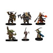 WizKids Pathfinder Battles: Iconic Heroes Evolved Figures Set - 6 Pack