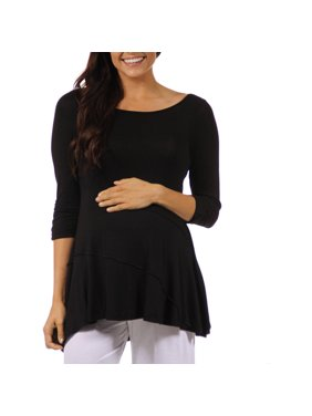 Women's Solid Maternity Tunic