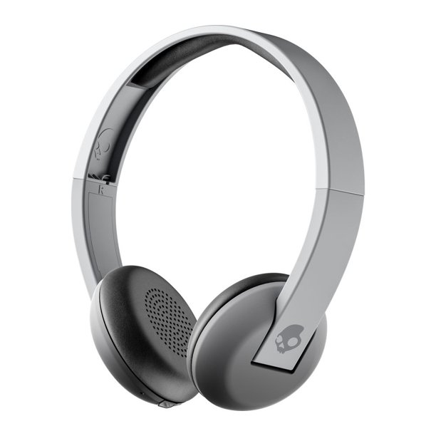Skullcandy Uproar Bluetooth Wireless On Ear Headphones With Built In Mic And Remote Grey Walmart Com Walmart Com