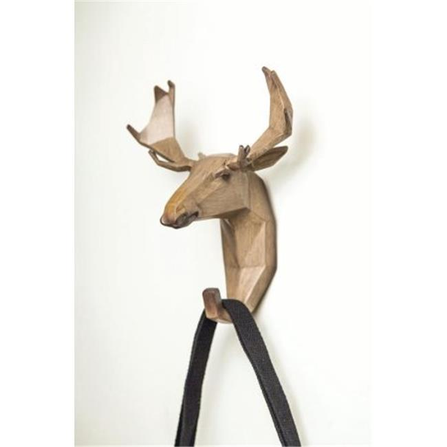 Manual Woodworkers & Weavers RMWHEK 6.75 x 9.25 x 4.75 in. Moose Resin Wall Hook - image 1 de 1