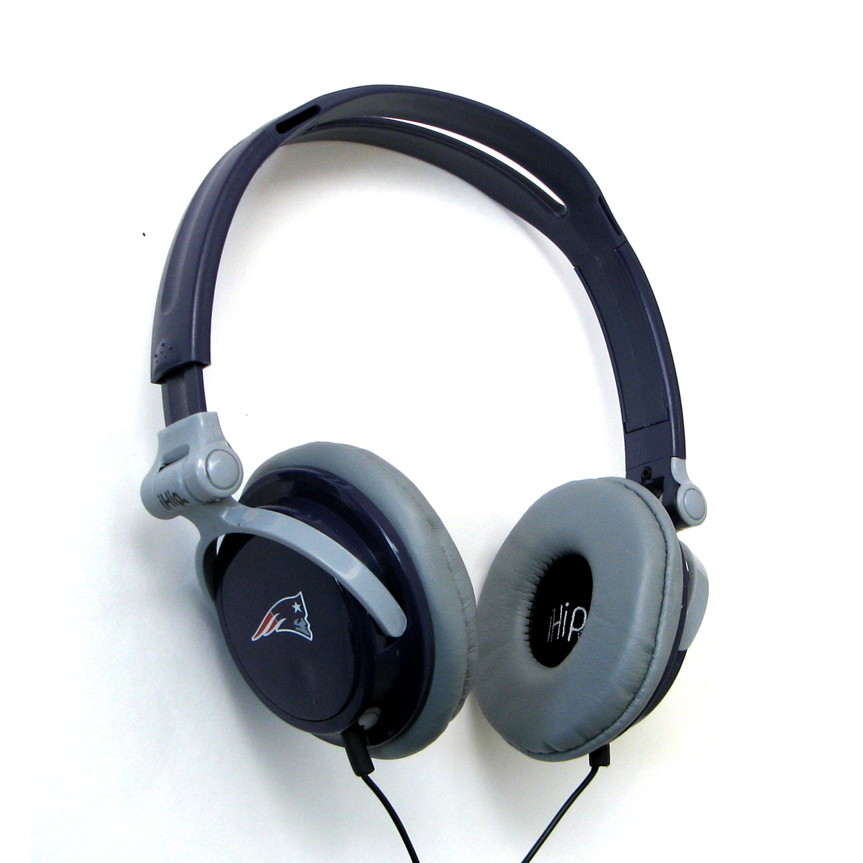 Ihip Slim Dj Headphones - New England Patriots