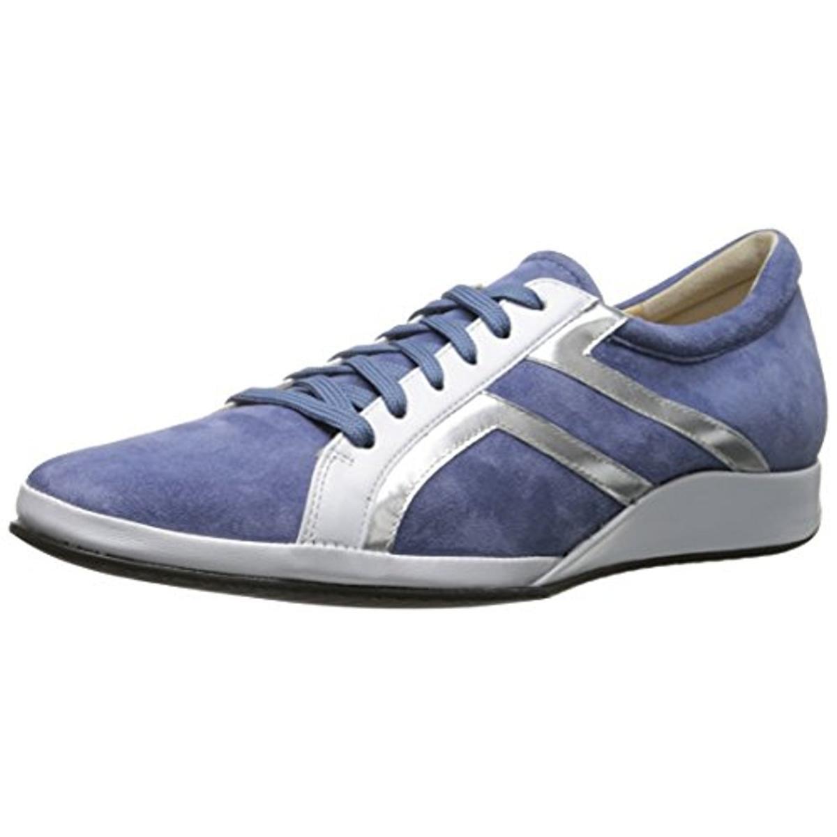 Amalfi by Rangoni Womens Ecco Suede Wedge Fashion Sneakers by Amalfi by Rangoni