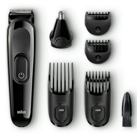 Braun MGK3020 Men's Beard Trimmer/Hair Clippers, 6-in-1 Precision Trimmer, Ultimate Precision for any Beard Style
