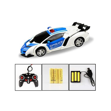 Kids Rechargeable Remote Control Deformation Car Robot Toy Caroj - image 5 of 6