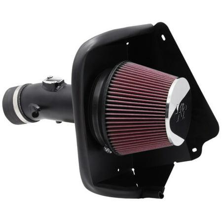 K&N Performance Cold Air Intake Kit 69-7002TTK with Lifetime Filter for Nissan Maxima 3.5L V6