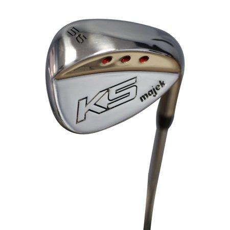 Majek Golf +2 inch over XL Big & Tall Senior Men's Sand Wedge (SW) 56° Right Handed Senior Flex Steel Shaft (Tall 6'3
