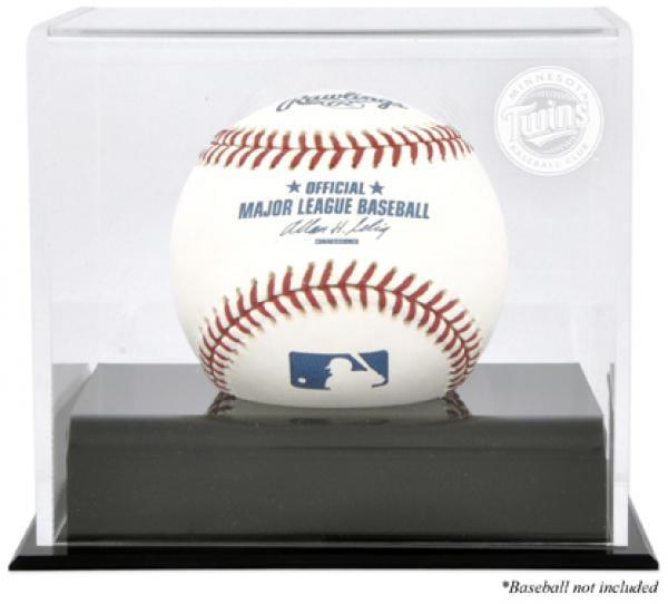 Minnesota Twins Baseball Cube Logo Display Case