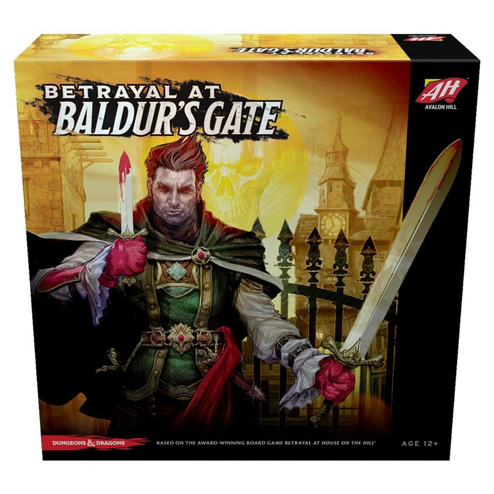 Betrayal at Baldur's Gate Fantasy Board Game Wizards of the Coast WOCC37100000 by Wizards of the Coast