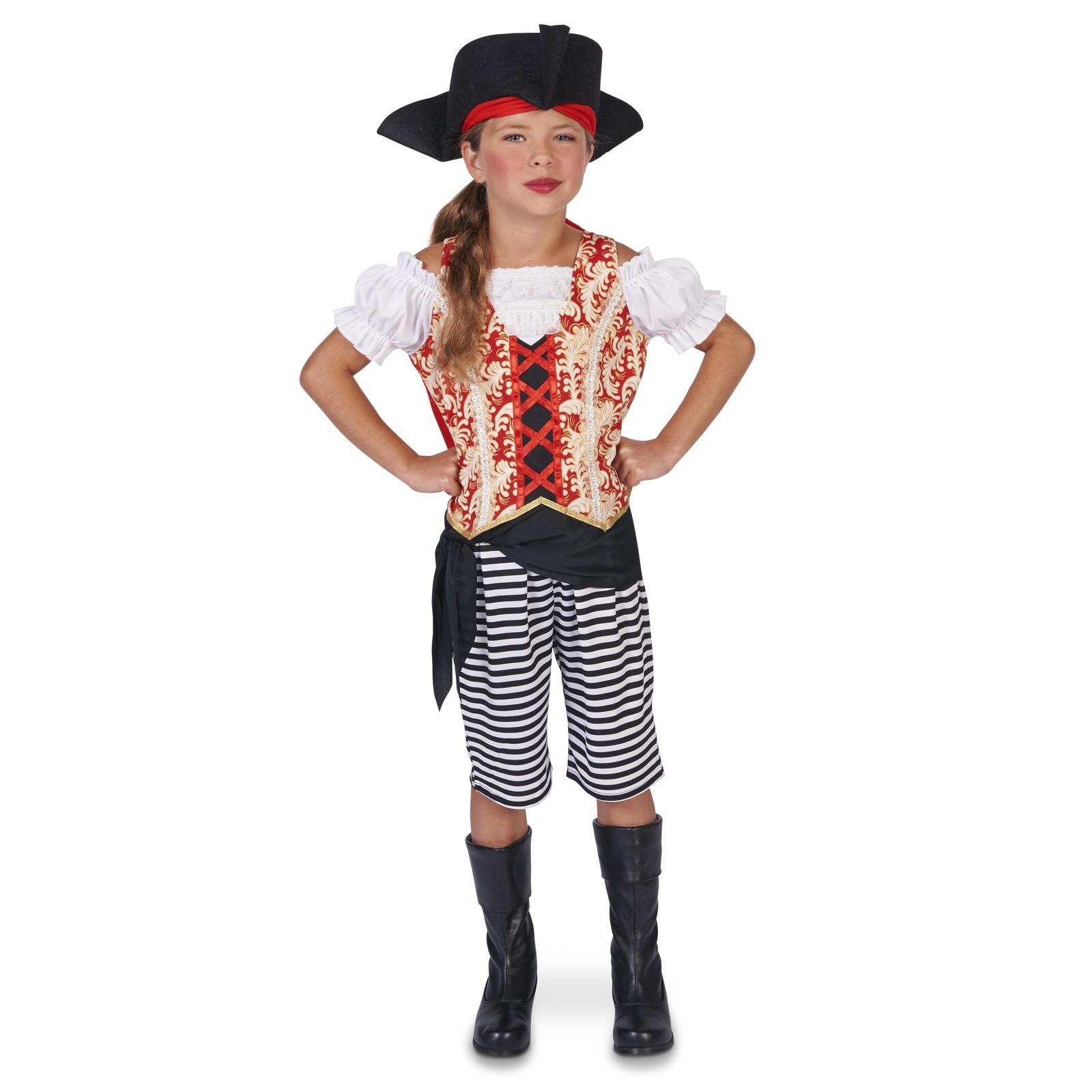 Sea Pirate Girl Child Costume by DreamWeaversCostumer