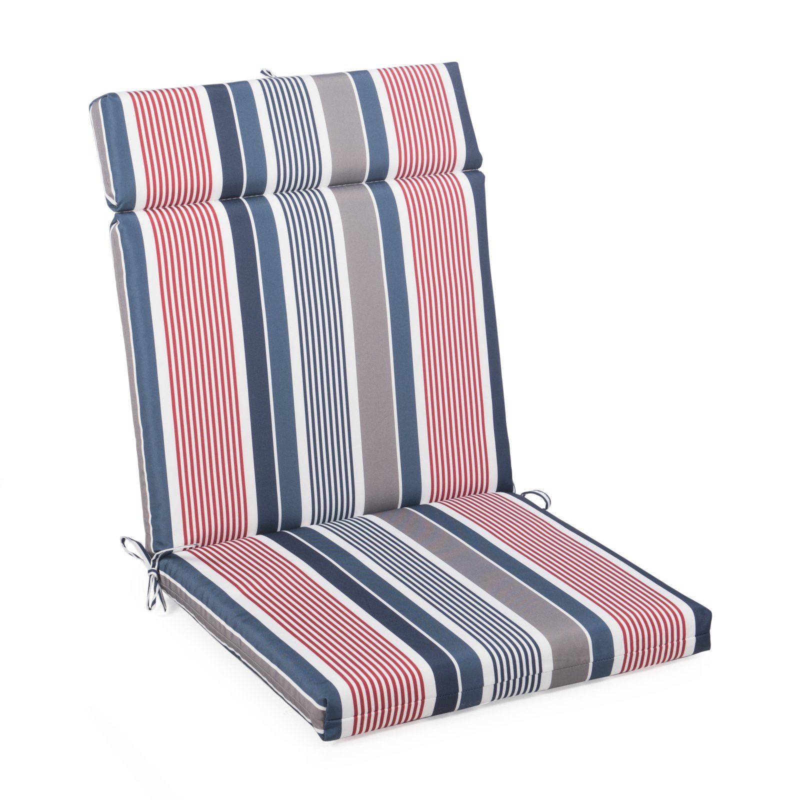 Coral Coast Classic French Edge Cartridge Hinged Seat and Back Chair Cushion