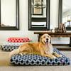 Links Small Orthopedic Memory Foam Rectangle Dog Bed