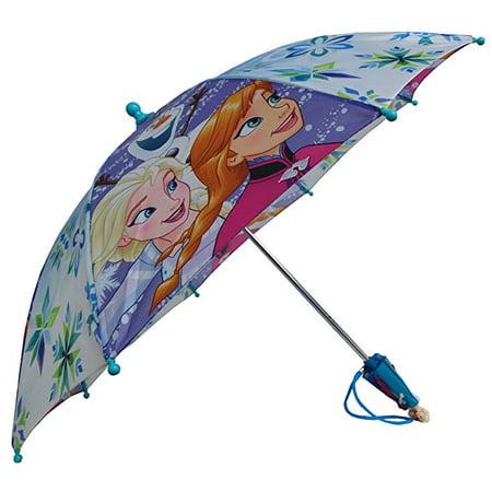 Disney Frozen Family Anna Elsa and Olaf Umbrella - Toddler 3D Anna Elsa Handle